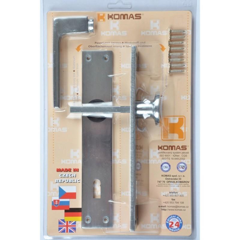 Štít dveřní s knoflíkem blistr, K90 26103