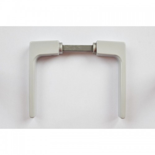 Klika vratová komaxit stříbrný, K412