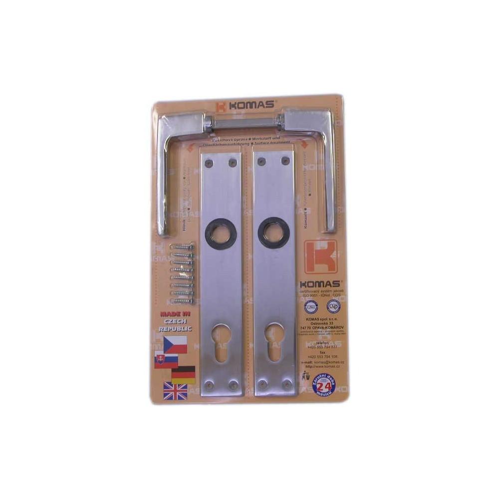 Štít dveřní s klikou blistr, V90 26102