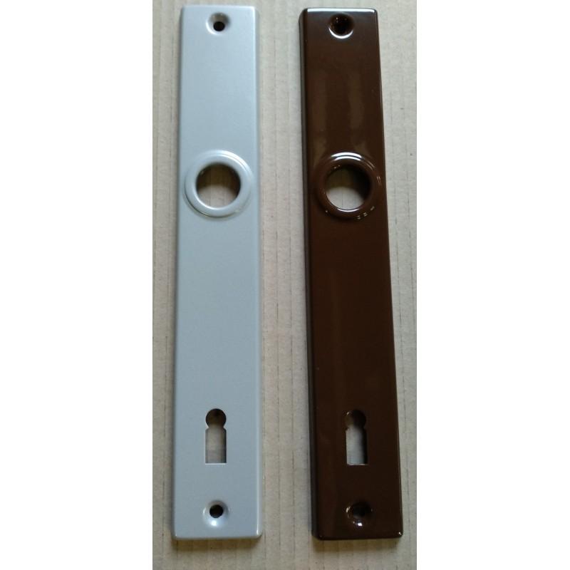 Štít vratový komaxit stříbrný, K411,r.105